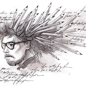 Independent mind of a writer