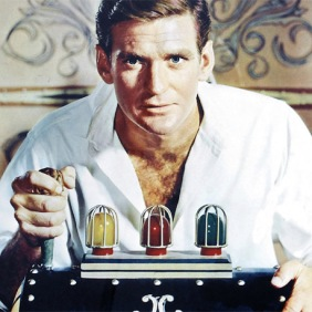 "Rod Taylor in the movie ""The Time Machine"""